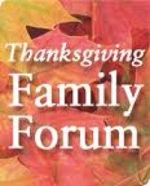 Candidates Thanksgiving Family Forum in Iowa