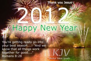 Happy New Year – Thank You Jesus