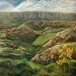 """God's Grand Canyon –Badlands North Dakota"" by David Christie"