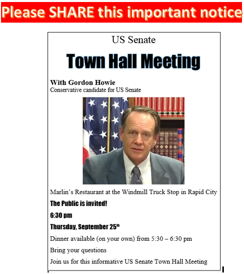 US Senate Town Hall Meeting