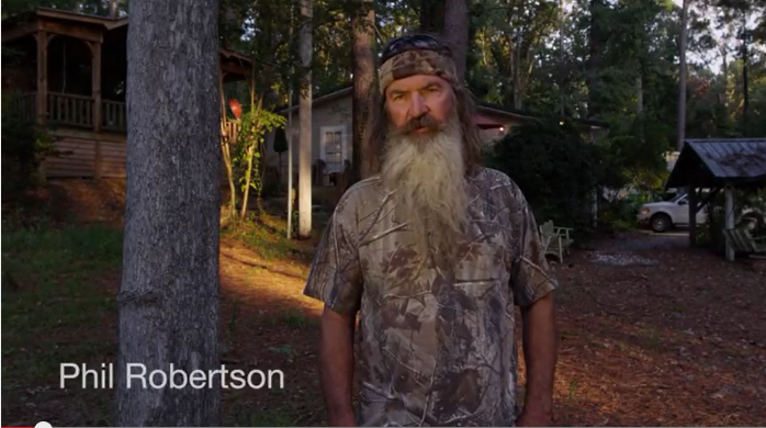 Duck Dynasty Message To Voters