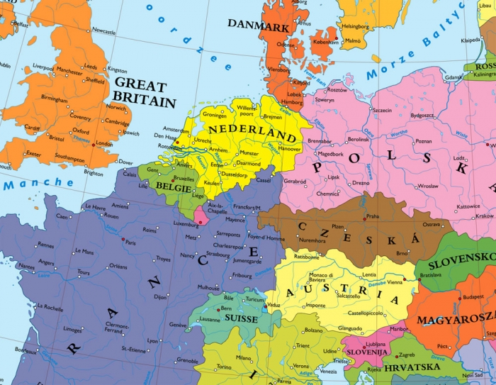 Hate map of europe without germany once proposed the right side blog reshuffling of populations was rampant after world war ii cities received different names centuries of expansion by germans farmers toward the east was gumiabroncs Gallery